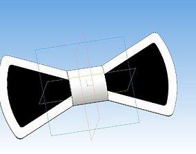 Bow tie 3D printable model
