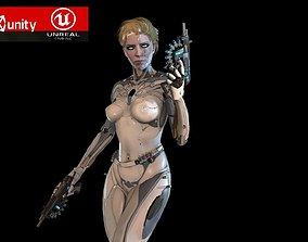 3D model Cyborg assasin