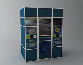 3D model Lottery Vending Machine