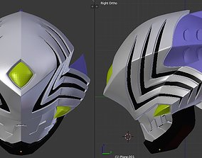 Kamen Rider Abyss 3D printable helmet ryuki