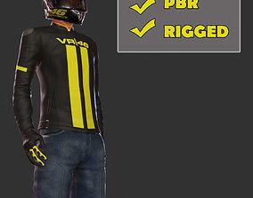 3D model Biker PBR
