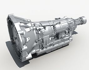 3D Car Transmission gearbox