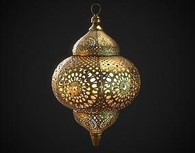 PBR Moroccan Lantern A 3D asset