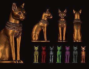 3D print model Egyptian ritual cat - Sekhmet Goddess - 1