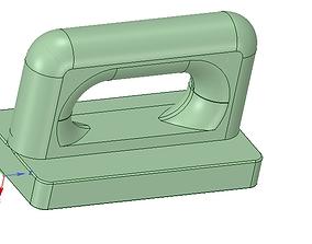 Nylon Internal Flat Slide and Slug ABA91 3d-print