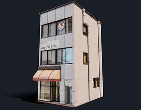 Japanese Pizza Shop 3D model