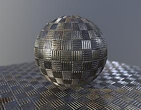 3D Metal platform texture and procedural substance