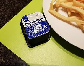 McDonalds Sauce Cup Holder 3D print model