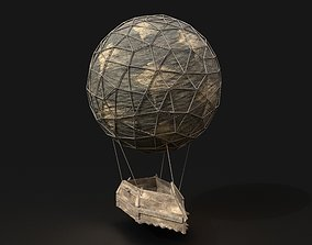 3D model AAA NEXTGEN Medieval Small Balloon Airship 2