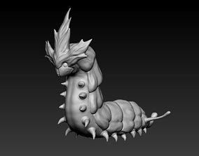 3d printable warm worm miniature