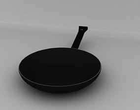 Frying Pan 3D model VR / AR ready