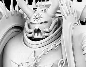 3D Warhammer Chaos Space Marine