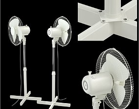 floor electric fan 3D model