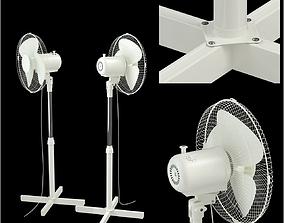 3D model floor electric fan
