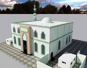 3D asset mosque grow up instructor