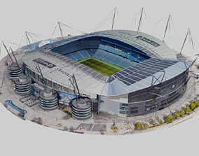 3D model Etihad Stadium - Manchester City FC