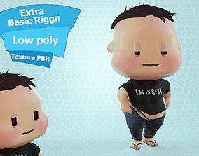 Civilian Fat Boy 3D model