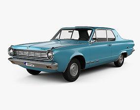 3D model Dodge Dart GT hardtop coupe 1965