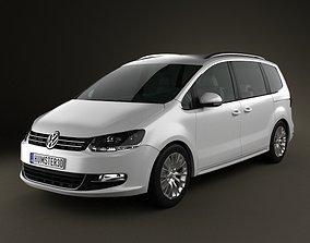 Volkswagen Sharan Typ 7N 3D model