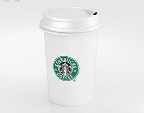 Coffee Cup 3D model starbucks