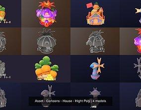 3D model Asset - Cartoons - House - Hight Poly