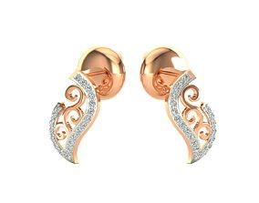 Earrings-6894 3D printable model