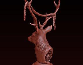 3D printable model Deer statuette