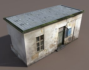 Derelict House Low poly 66 3D model