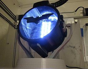 3D printable model Desktop Carbon Arc Searchlight
