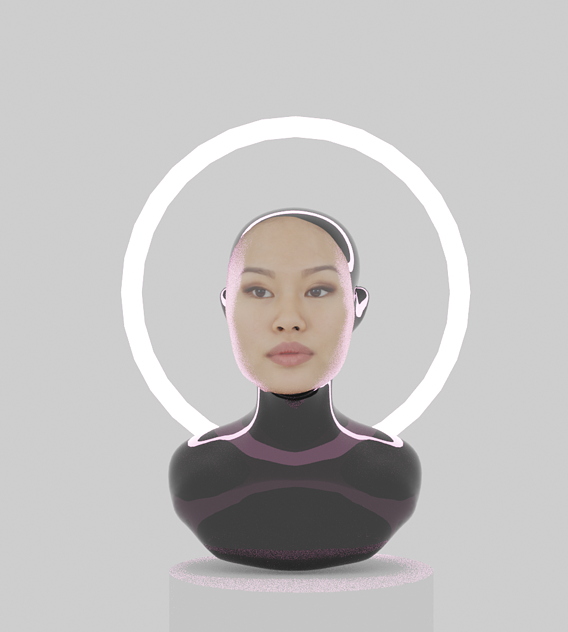Sci-fi Android