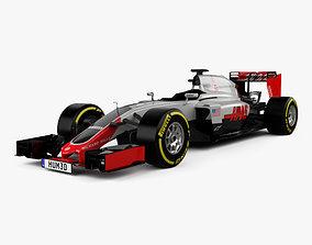 3D model Haas VF-16 F1 2016