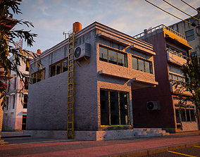 BUILDING URBAN AREA HONGKONG JAPAN CHINA ASIAN 02 3D asset