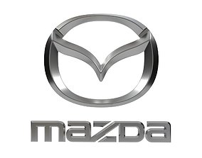3D print model Logo Mazda