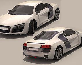 3D model Audi R8 2013
