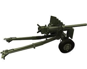 3D asset British Mk 4 6-Pdr Anti-Tank Gun