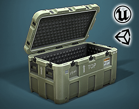 MG - Military Case - VR Game Low-poly 3D model game-ready