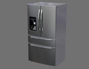 Refrigerator 3A 3D asset