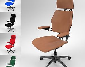 3D model Techo Freedom Office Chair Blender Cycles