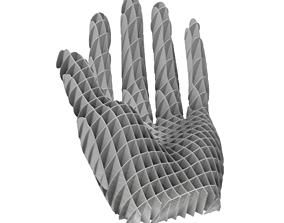 Hand Art installation 3D print model