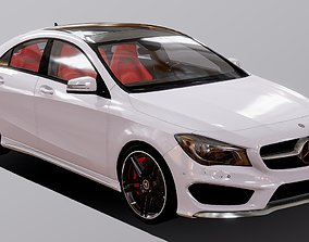 VR / AR ready Auto Mercedes Benz CLA 250 3D Model