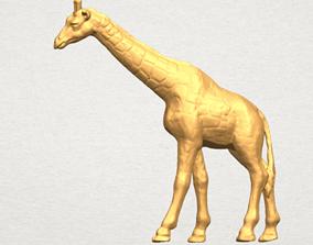 elephant Giraffe 3D Model