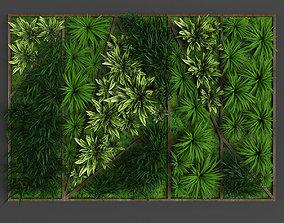 3D asset Vertical gardening 013