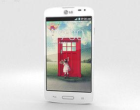 LG F70 White 3D