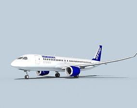 Bombardier CS100 3D model