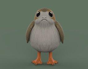 3D model Star Wars Porg