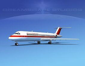 3D model Douglas DC-9-30 Allegheny