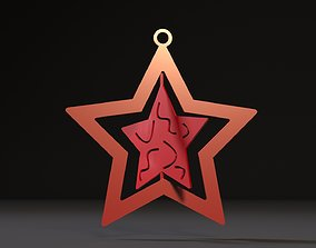 Christmas toy star 3D print model