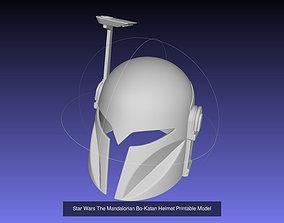 3D model Star Wars Bo Katan Printable Armor Collection
