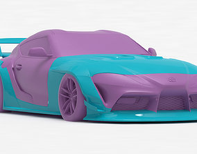 Toyota Supra A90 Liberty Walk bodykit printable