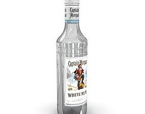 Captain Morgan White 50cl Bottle 3D